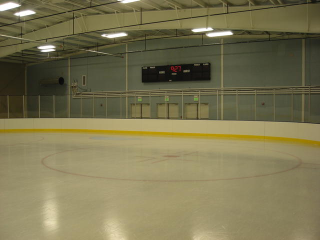 Jay Lively Ice Rink Re Construction